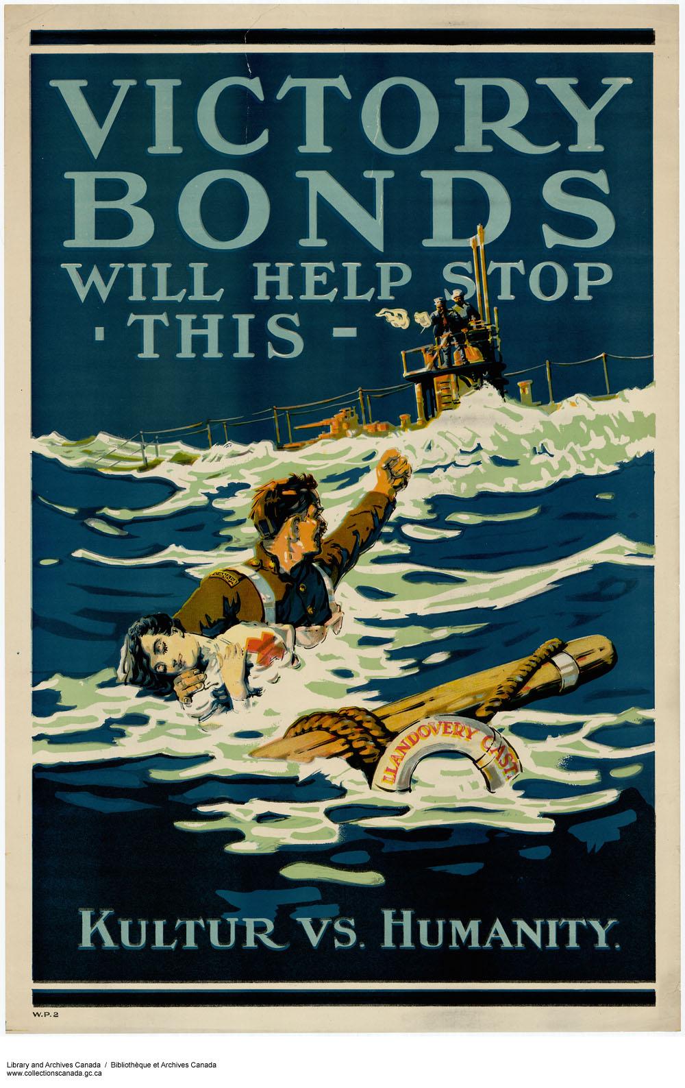 Canada et la lutte anti-sous-marine pendant la Première Guerre mondiale