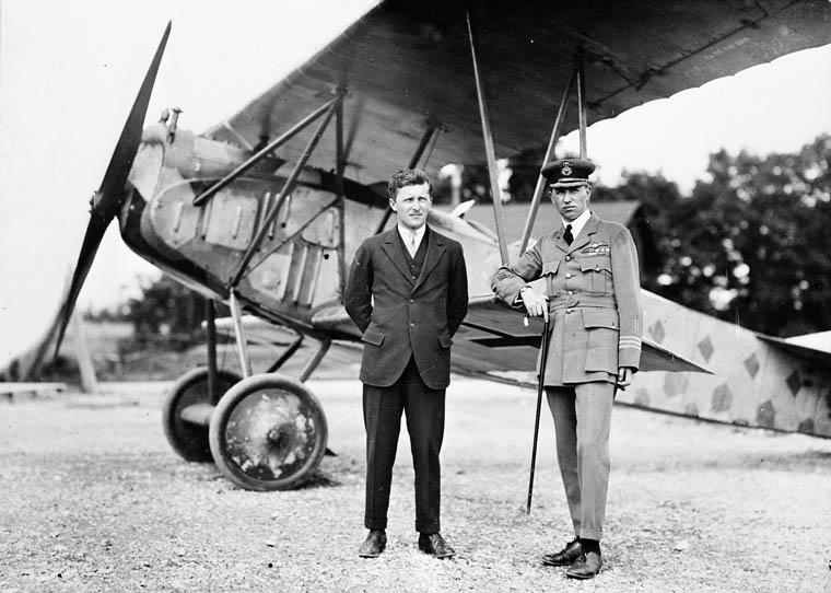 Billy Bishop and William Barker