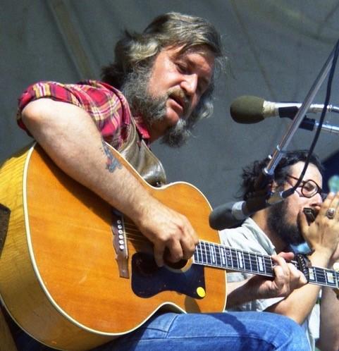 Bruce 'Utah' Phillips at Mariposa in 1972.