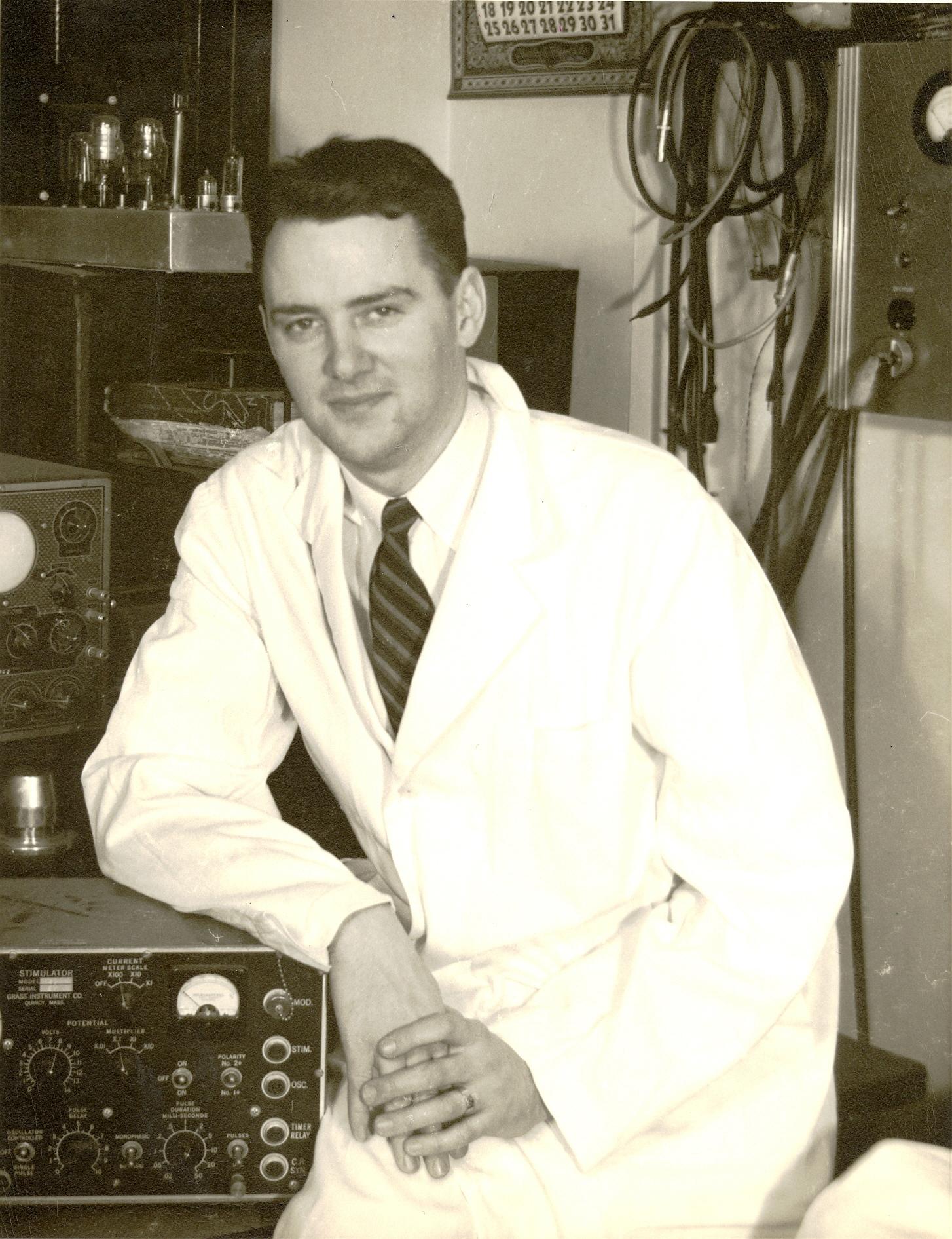 Portrait of Dr. John Carter Callaghan