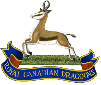 Badge of The Royal Canadian Dragoons