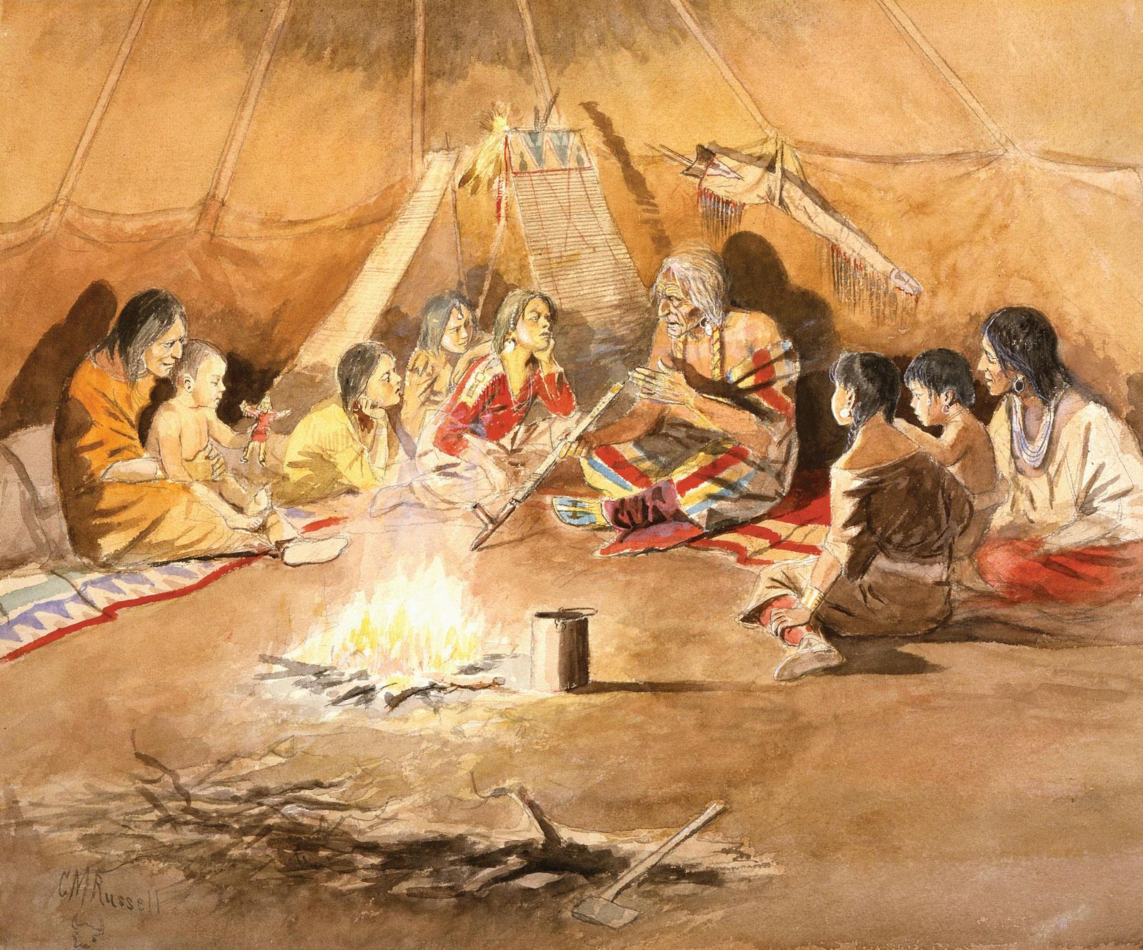 Histoire orale autochtone
