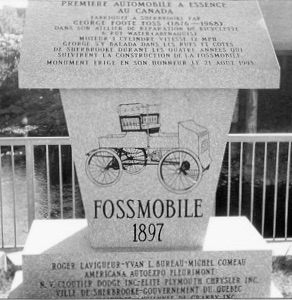 Photographic image of a stone monument