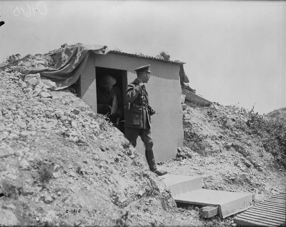 King George V at Vimy Ridge