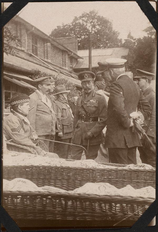 King George V at Canadian Hospital