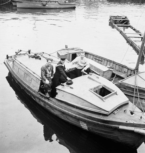 HMCS Haida, Motor Cutter, 1944