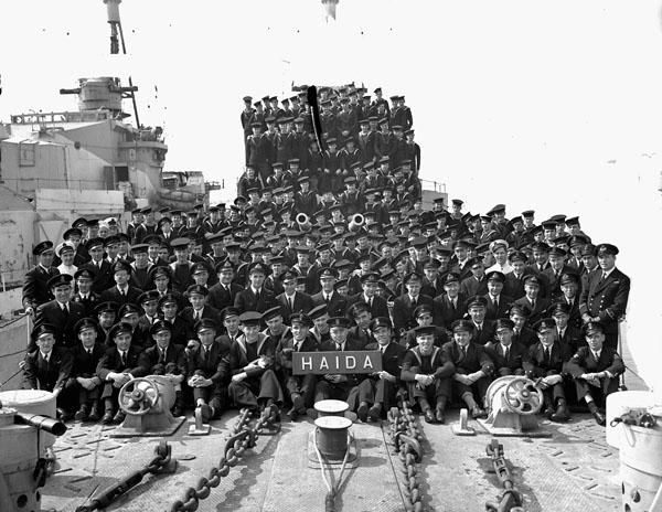HMCS Haida, 1944