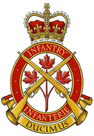 Insigne du Corps d'infanterie royal canadien