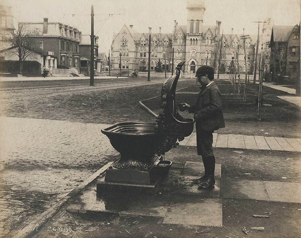 Drinking Fountain in Toronto, 1899