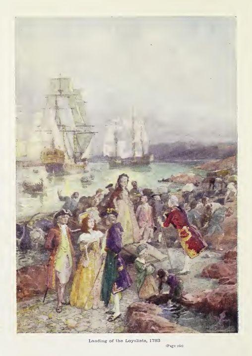 Landing of the Loyalists, 1783