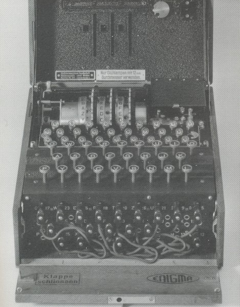 A code and cypher machine