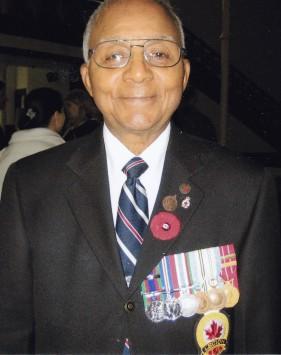 Percy Jackson in Royal Canadian Legion blazer.
