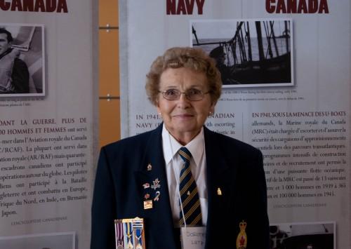 Dorothy Lutz in Halifax, Nova Scotia, 2010.