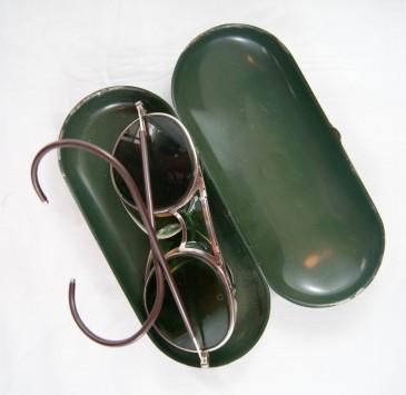 Dorothy's welding glasses.