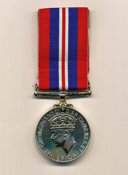 Médaille de la Guerre 1939-1945 de Murray Kirsh.