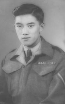 Frank Wong, 1942.