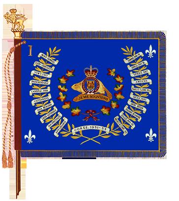 Regimental Colour of the R22eR