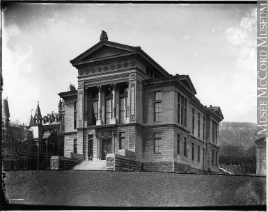 Photograph of the exterior of the Redpath Museum