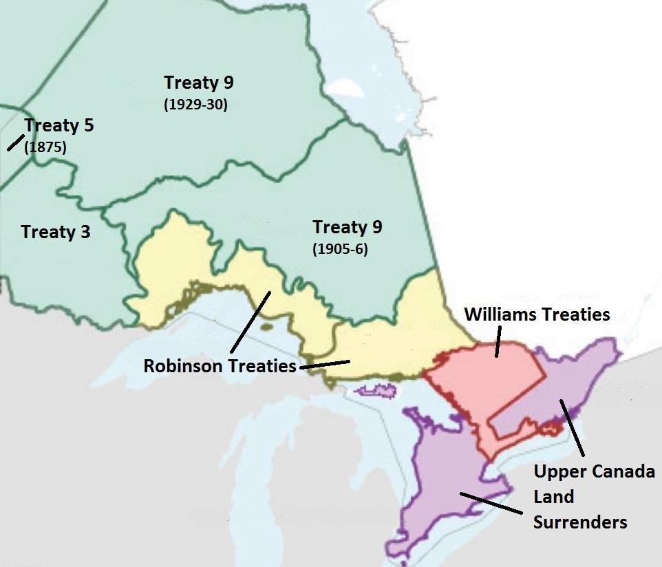Treaties in Ontario