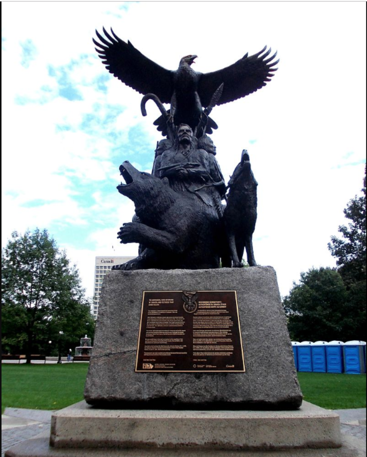Monument aux anciens combattants autochtones, à Ottawa
