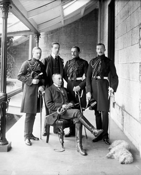 Lord Minto and His Staff