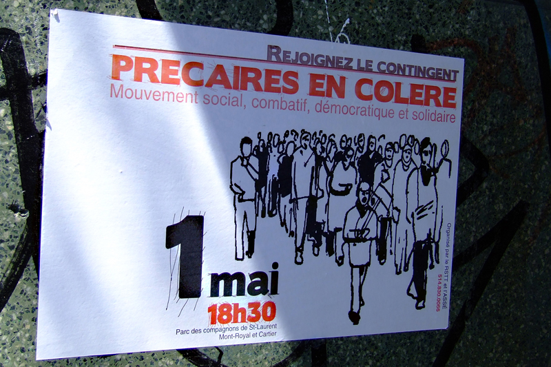 Premier mai, Montréal, 2007