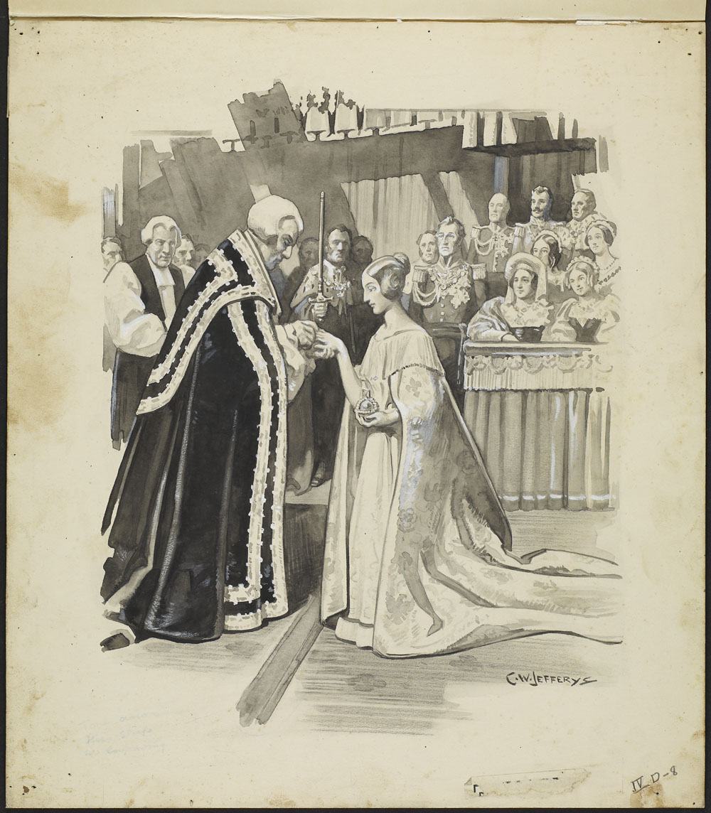 The Coronation of Queen Victoria