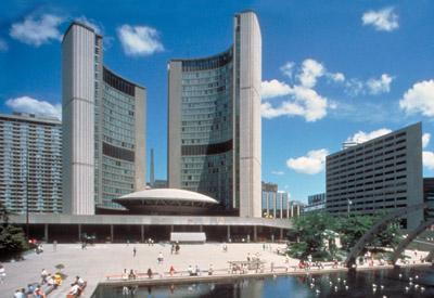 Toronto, hôtel de ville de (nouveau)