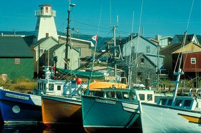 Chéticamp Harbour