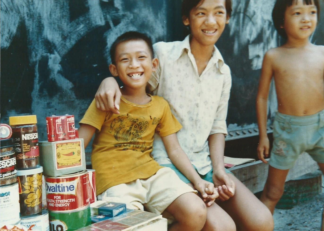Le camp pour réfugiés de Pulau Bidong, 1979