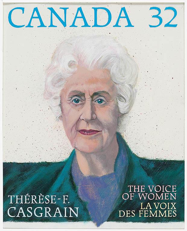 Thérèse Casgrain (The Voice of Women)