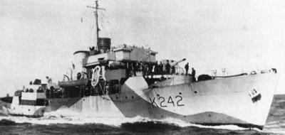 Ville de Quebec Sinks U-Boat