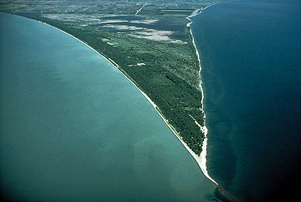 Point Pelee National Park, Aerial View
