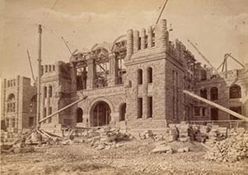 Ontario Legislature Under Construction