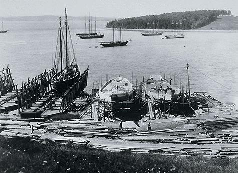 Construction de schooners