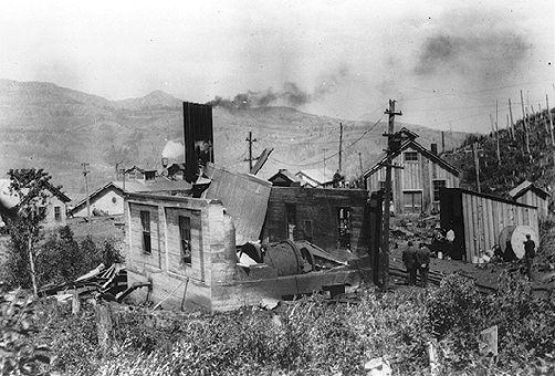 Hillcrest, explosion de la mine de
