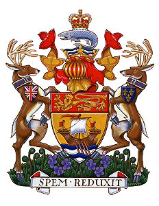 Nouveau-Brunswick, armoiries du