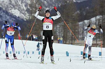 Crawford, Chandra, cross-country skier