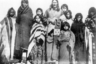 Crowfoot et sa famille