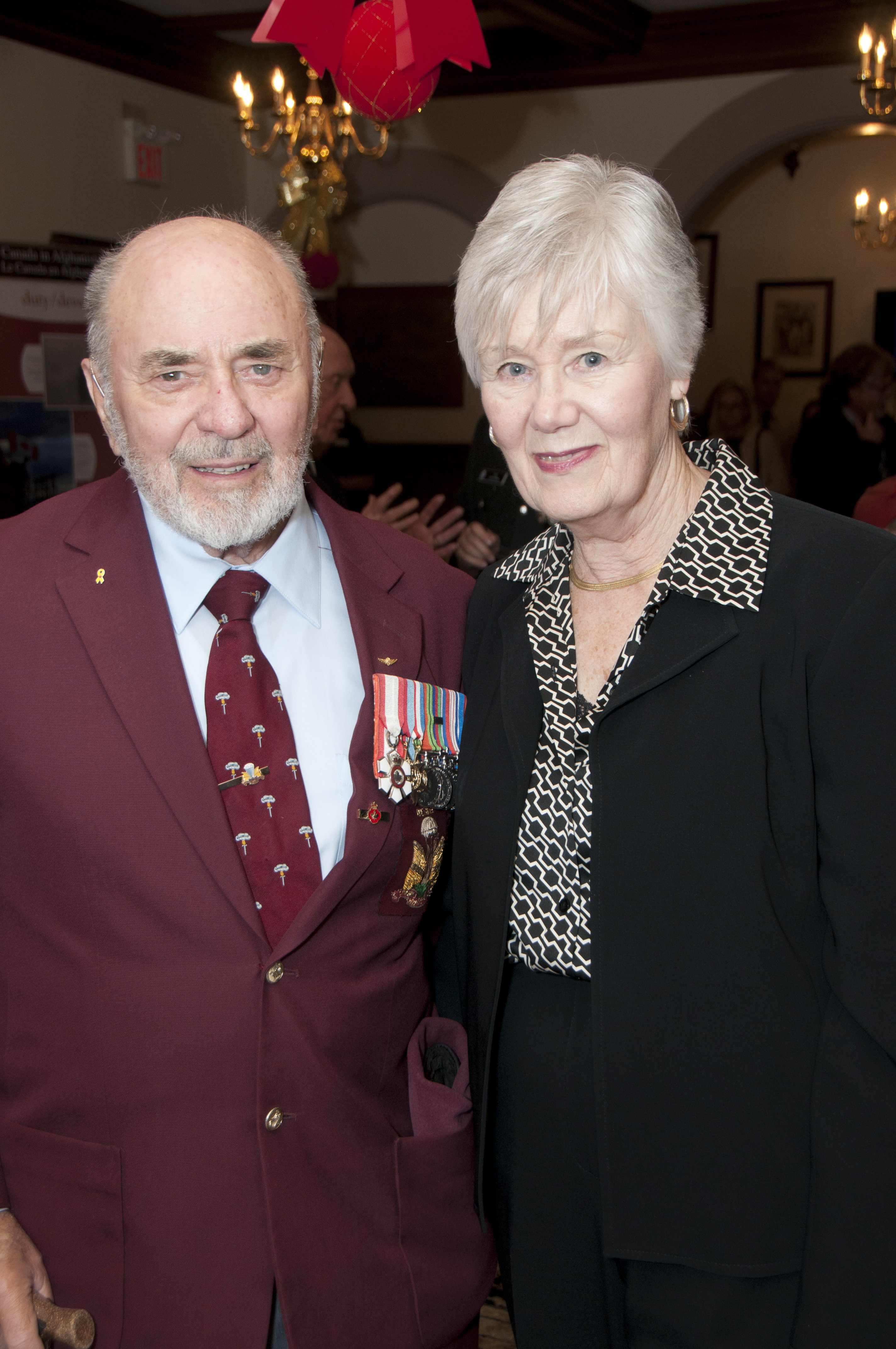 Jan de Vries, former Memory Project Speaker and his wife Joanne, 2012.