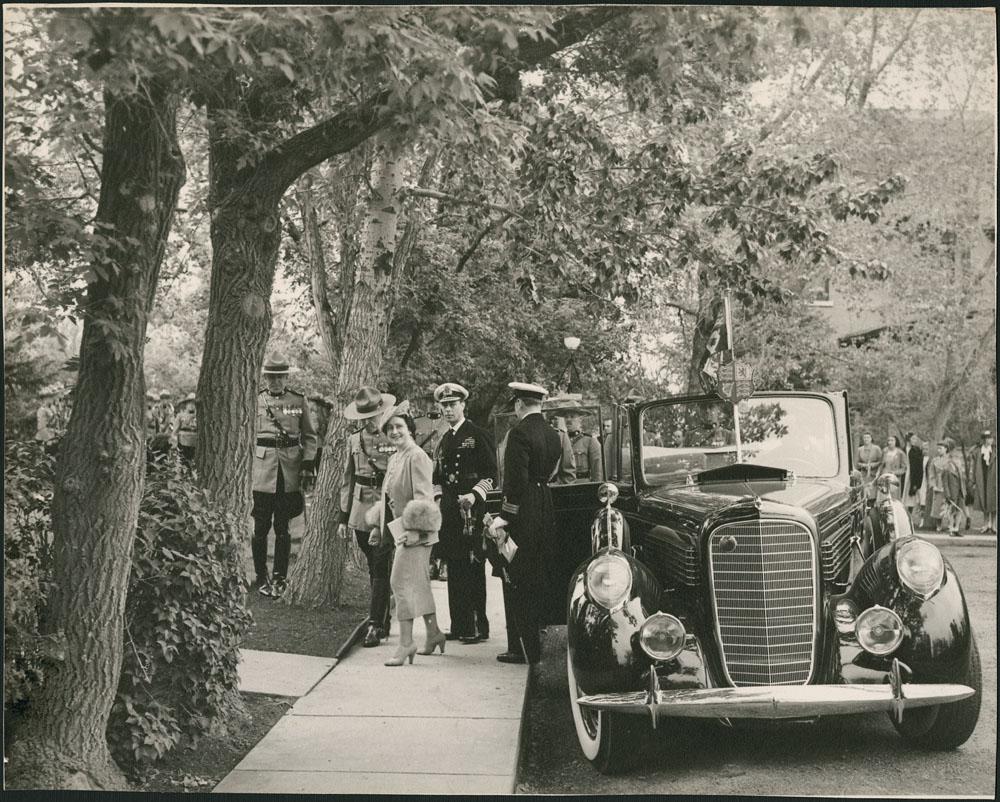 Queen Elizabeth in Canada, ca. 1938-39.