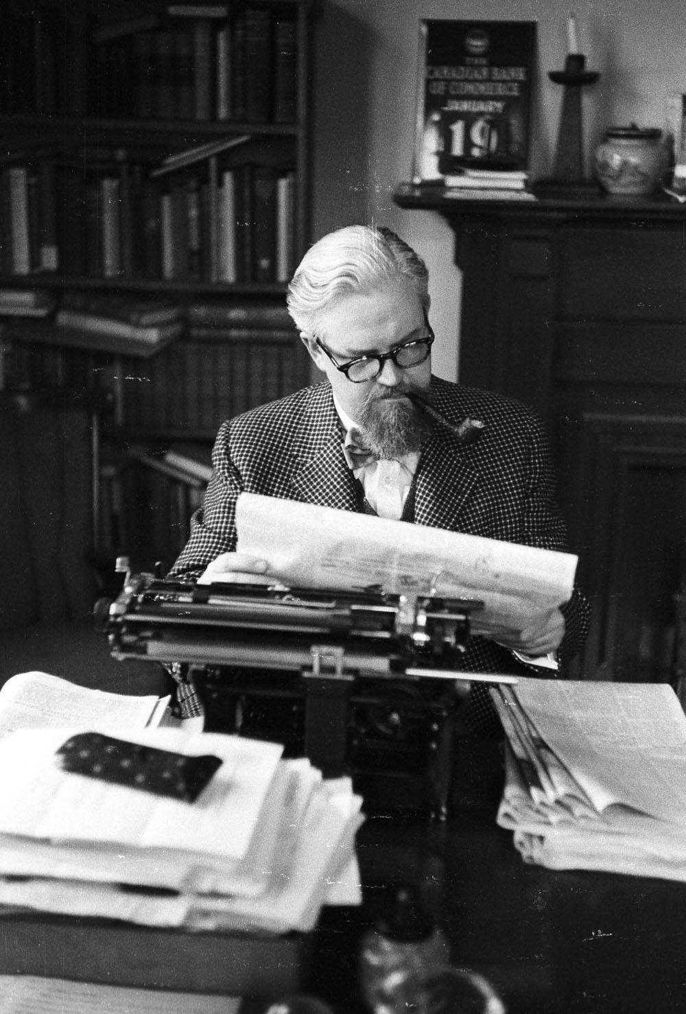 Robertson Davies, undated.