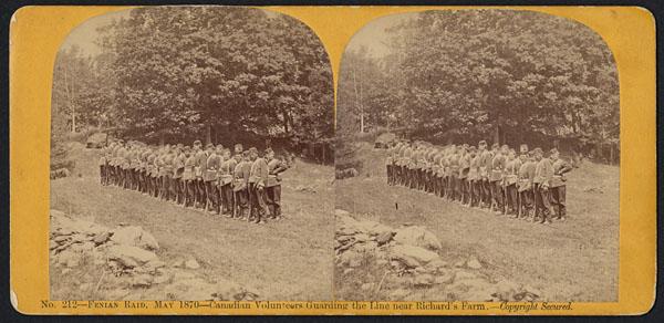 Raid des fenians, mai 1870