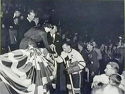 Ted Kennedy and Princess Elizabeth