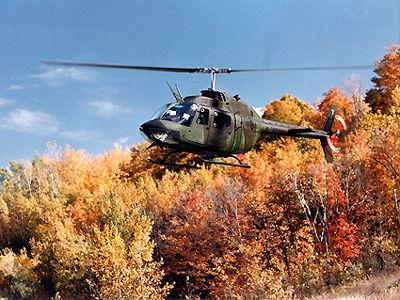 Hélicoptère voltigeant