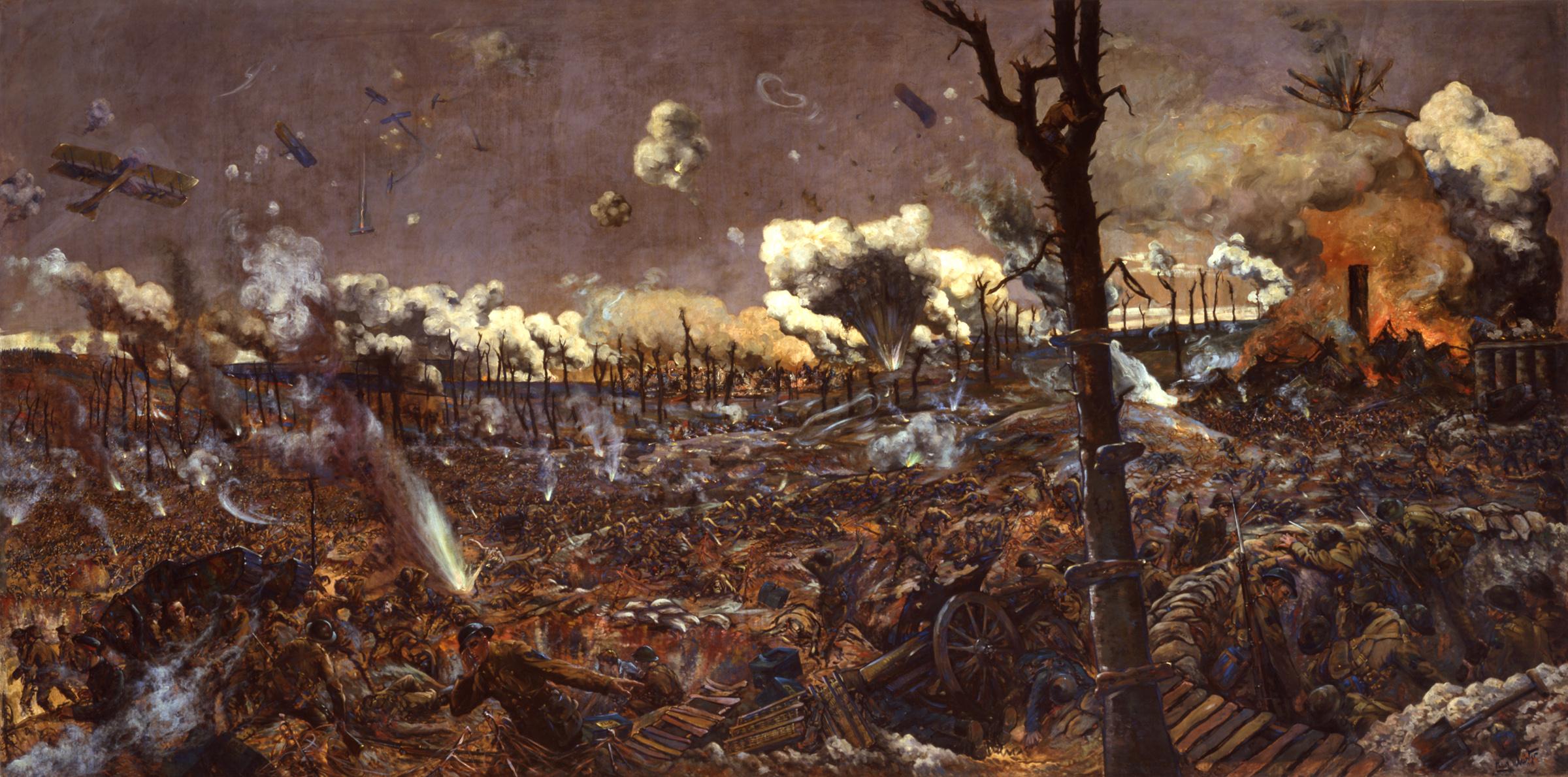 « La bataille de Courcelette », 1918