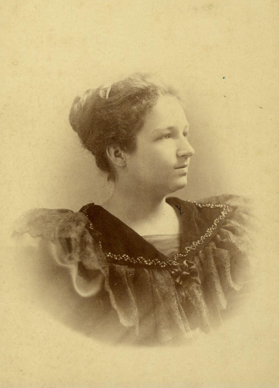 Marie Gérin-Lajoie (née Lacoste) circa 1895