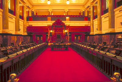 Parlement de la C.-B., Intérieur