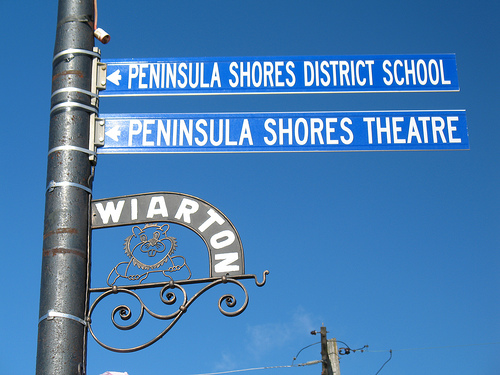 Wiarton Willie Signpost