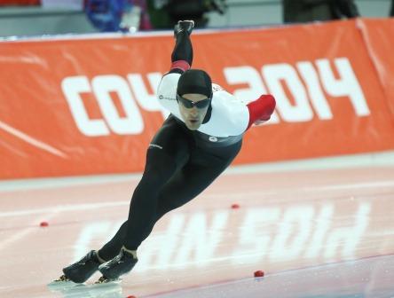 Denny Morrison, 1500m, Sochi 2014